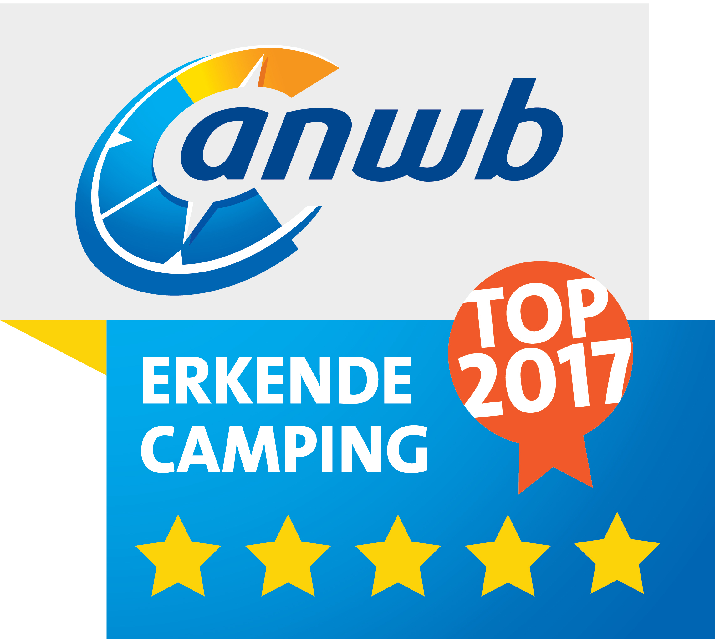 ANWB Top Camping 2017
